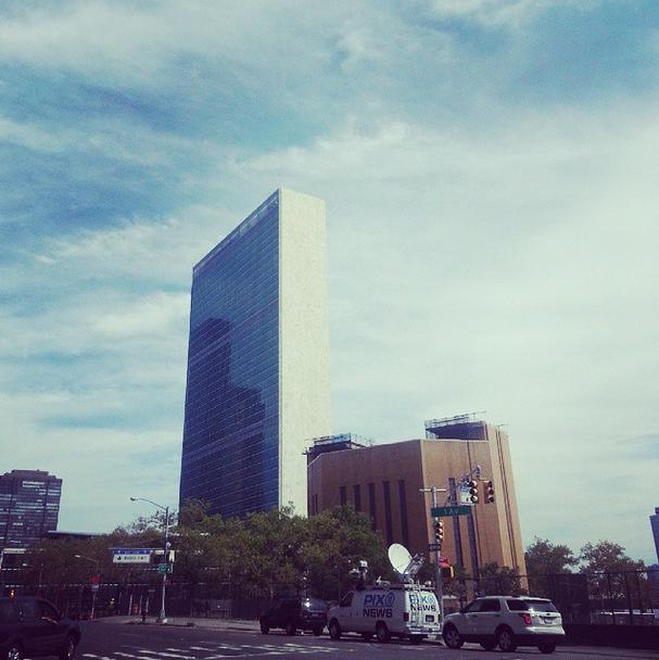 Verenigde Naties in New York. Foto Hans Klis