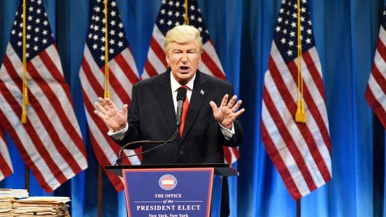 Foto Alec Baldwin als Donald Trump / NBC